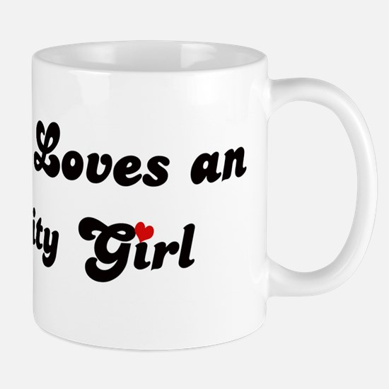 Loves Iowa City Girl Mug