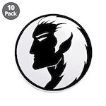 """Dark Elf Designs 3.5"""" Button (10 pack)"""