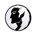 """Dark Elf Designs 3.5"""" Button (100 pack)"""