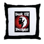 Dark Elf Designs Throw Pillow