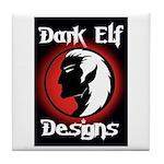Dark Elf Designs Tile Coaster