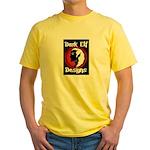 Dark Elf Designs Yellow T-Shirt