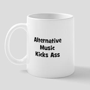 Alternative Music Kicks Ass Mug