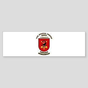 SOF - 7th SFG - Iraq - Flash with Text Sticker (Bu