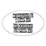 Pump day Sticker (Oval)