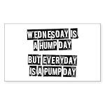 Pump day Sticker (Rectangle)