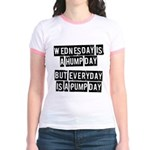 Pump day Jr. Ringer T-Shirt