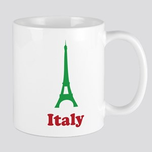 Italy eiffel tower Mug