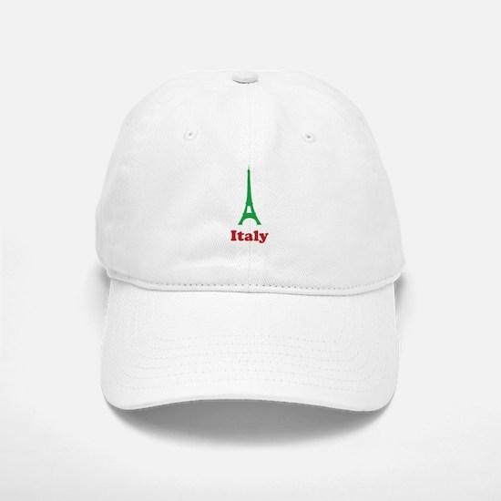 Italy eiffel tower Baseball Baseball Cap