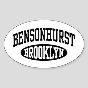 Bensonhurst Brooklyn Sticker (Oval)