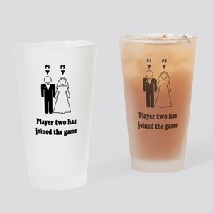 Player Two Drinking Glass