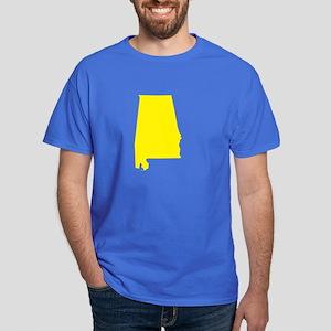 Yellow Alabama Dark T-Shirt
