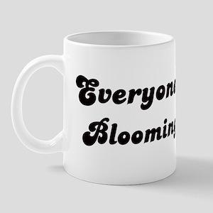 Loves Bloomington Girl Mug