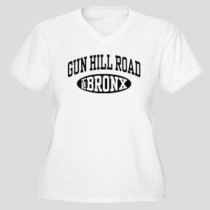 Gun Hill Road The Bronx Women's Plus Size V-Neck T