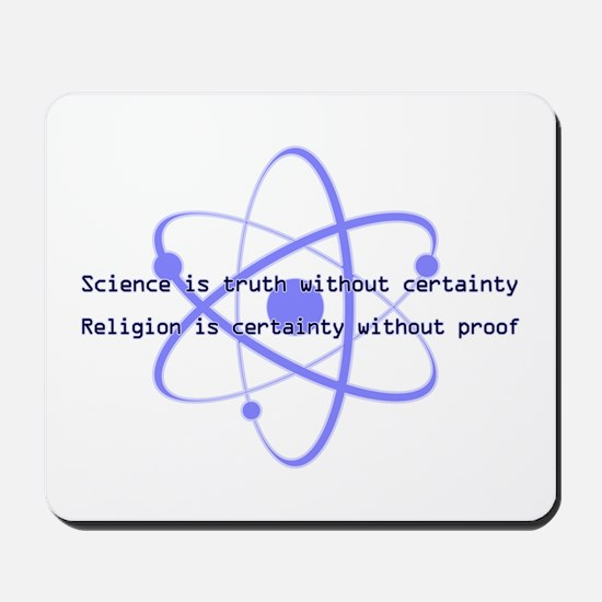 Science Is Truth Mousepad