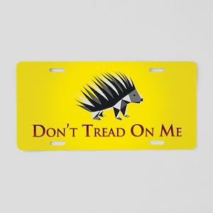 Gadsen Dont Tread on Me Aluminum License Plate
