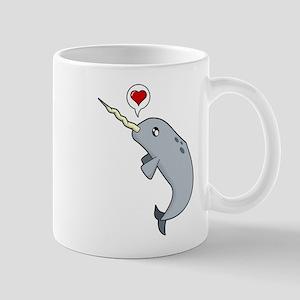 Narwhal Love Mug