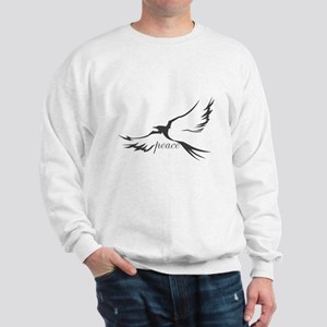 Winged Peace Charcoal Sweatshirt
