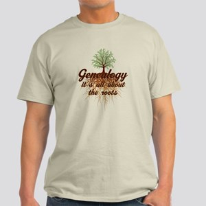 Genealogy Family Roots Light T-Shirt