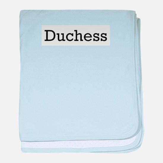 Duchess 2 baby blanket