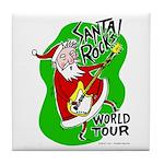 Santa Rocks - World Tour Tile Coaster
