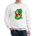 Santa Rocks - World Tour Sweatshirt