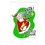 Santa Rocks - World Tour Postcards (Package of 8)