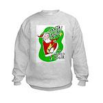 Santa Rocks - World Tour Kids Sweatshirt