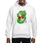 Santa Rocks - World Tour Hooded Sweatshirt