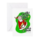 Santa Rocks - World Tour Greeting Cards (Pk of 10)