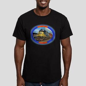 CSX 3 Men's Fitted T-Shirt (dark)