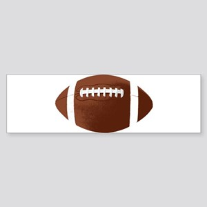 Cool Football Sticker (Bumper)