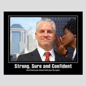 Confidence...Small Poster