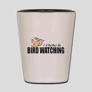 Bird Watching Shot Glass