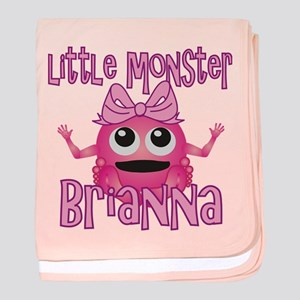Little Monster Brianna baby blanket
