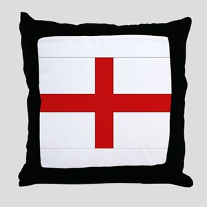 English Flag Throw Pillow