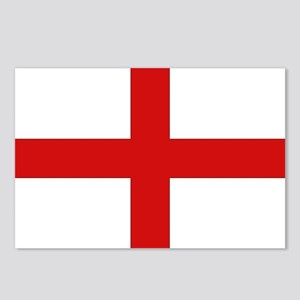 English Flag Postcards (Package of 8)