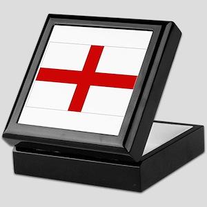 English Flag Keepsake Box
