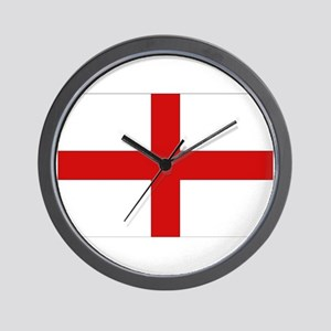 English Flag Wall Clock