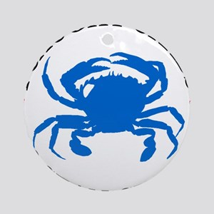 I caught crabs in Ocean City Ornament (Round)