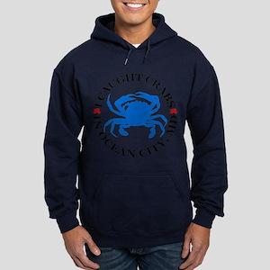 I caught crabs in Ocean City Hoodie (dark)
