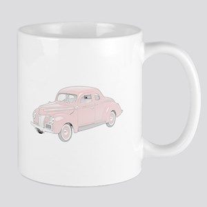 Ford Deluxe 1940 -colored Mug