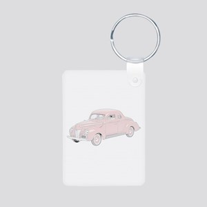 Ford Deluxe 1940 -colored Aluminum Photo Keychain