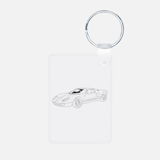 Ford GT Keychains