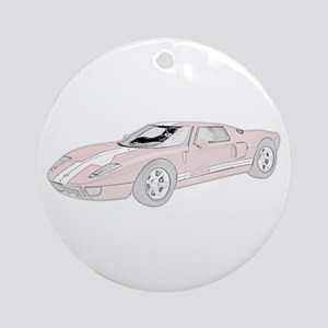 Ford GT -colored Ornament (Round)