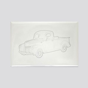 Ford Pickup 1940 Rectangle Magnet