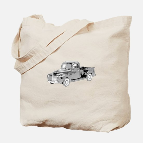 Ford Pickup 1940 -colored Tote Bag