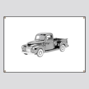 Ford Pickup 1940 -colored Banner