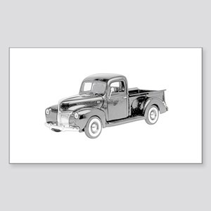 Ford Pickup 1940 -colored Sticker (Rectangle)