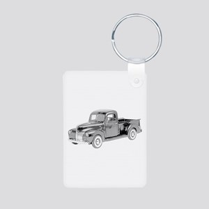 Ford Pickup 1940 -colored Aluminum Photo Keychain